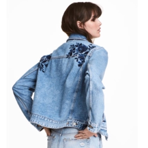 Host Pick * H&M Collection Embroidered Jacket 12 Autumn Collection. Velvet  with stunning Embroidered details